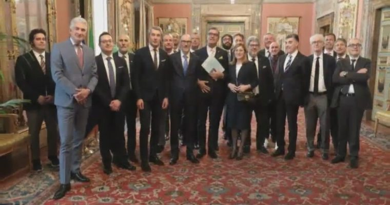 Banca Patavina incontra le istituzioni a Palazzo Madama